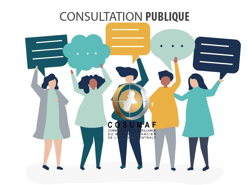 Avis de consultation publique: réforme réglementaire de la COSUMAF