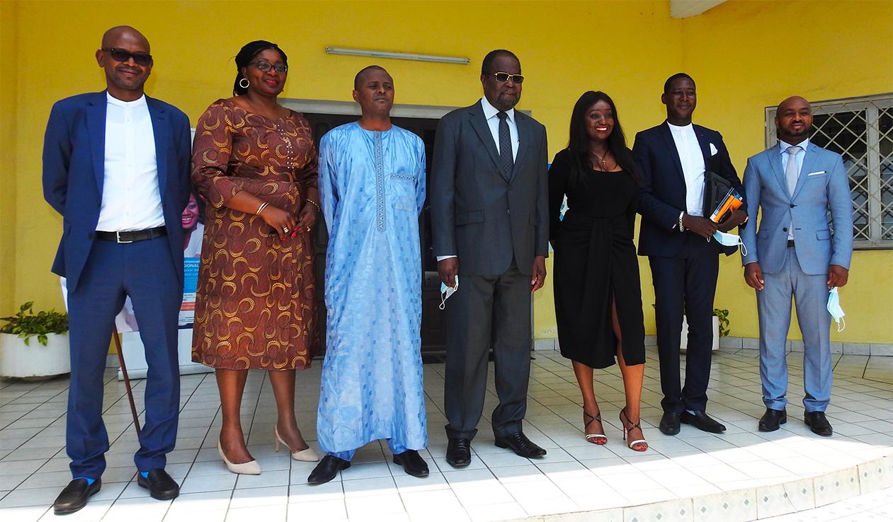 Le Ministre tchadien des Finances et du Budget à la COSUMAF
