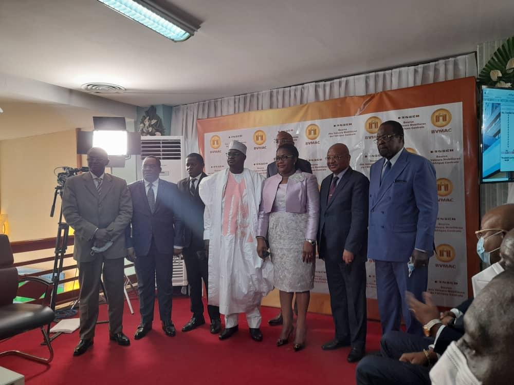 Première cotation de l'emprunt obligataire 2021 du Gabon à la BVMAC à Douala